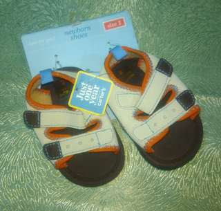 Carter's Rough & Tough Sandals - newborn shoes size 2