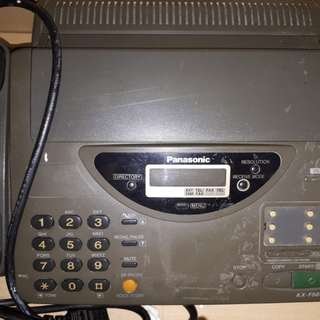 TURUN HARGA.. Mesin Fax + Tlp.