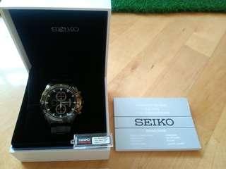 Seiko Watch (Cal.7T92 - 1/20 Chronograph)