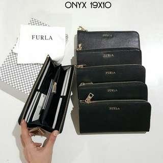 Furla Zip Wallet Onyx