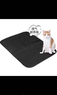 🚚 現貨~~大號寵物猫砂墊 高彈EVA 防水猫墊 猫狗用品 家用寵物墊
