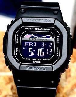 NEW 🌟ARRIVAL BABYG DIVER CASIO SPORTS WATCH : 1-YEAR OFFICIAL WARRANTY: 100% ORIGINALLY AUTHENTIC BABY-G SHOCK-RESISTANT in DEEP BLACK -FOREST BEST FOR MOST SPORTS ROUGH USERS & UNISEX: BLX-560-1DR / BLX560 / DW-5600BB / BA-110 / DW-5600 / GX-56BB