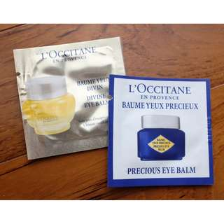Loccitane eye cream