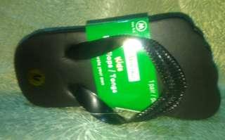 Black Slippers FlipFlops for Babies