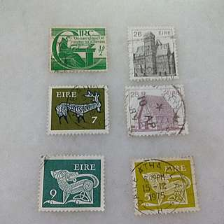 Ireland Stamps 6V Used #2