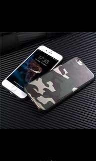 🚚 現貨Iphone X/7/8 plus迷彩手機殼保護套