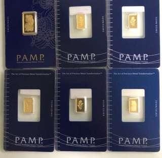 Gold 999 - Gold bars ❤️