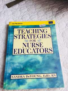 Teaching Strategies for Nursing Education
