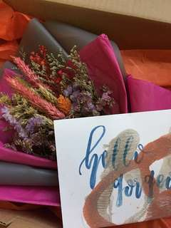 Dried Flower Bouquet - Mailed!