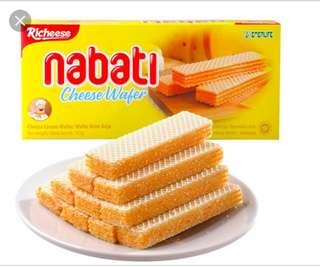 麗滋Nabati起司和巧克力威化餅