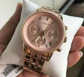 Mk Ritz!!  💯Percent Pawnable 💯Percent Authentic 💯US GRADE ORIGINAL QUALITY  Comes With : ⌚Mk Hardbox ⌚Manual ⌚Mk Paperbag ⌚Serial Number
