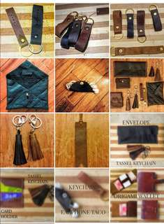 Customized leather works
