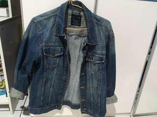 Jaket Jeans Denim Pull and Bear 100% Original