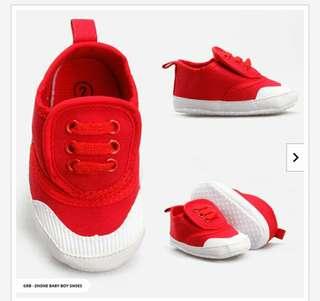 Zhone Two Tone Sneakers Baby Boy Shoes