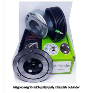 Jual Murah Partai Ecer Grosir Produk Suku Cadang Magnet Clutch Pulley Pully Mitsubishi Outlander