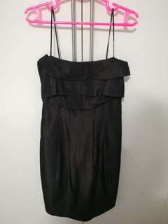 ZARA BASIC BLACK DRESS