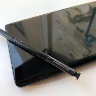 Samsung Galaxy Note 8 Midnight Black + Asuransi Premium bs TT iPhone X