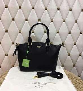 Katespade Plain X Printed Sling Bag