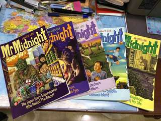 Used Mr Midnight books