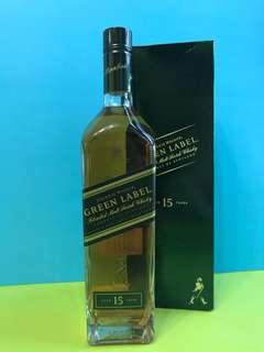 Johnnie Walker Green Label 750ml 綠牌15年威士忌