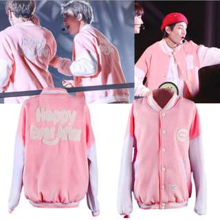 BTS BANGTAN BOYS 4TH MUSTER BASEBALL JACKET SWEATSHIRT