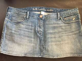 Abercrombie and Fitch skirt jeans size 8 AF 牛仔短裙