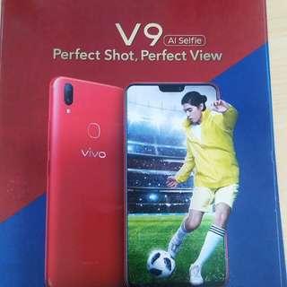 Vivo v9 RED limitied edition dp 800 rban