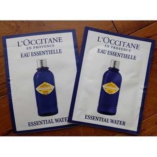 Loccitane essential water