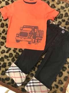 Gap / Burberry Corduroy pants