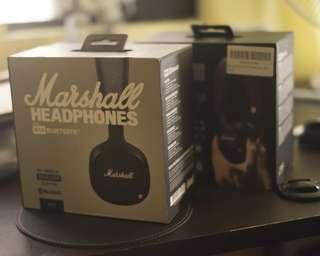 Marshall MID Bluetooth Headphones Brand New Sealed