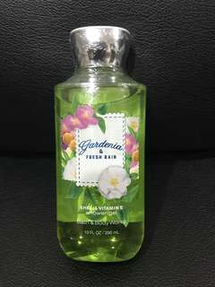 Authentic Bath & Body Works Shea & Vitamin E Shower Gel Gardenia Fresh and Rain 10 fl oz/ 295 grams Brand new US bought Php550
