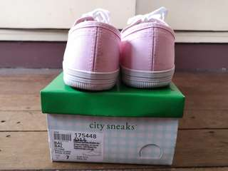 Pink Sneakers City Sneaks