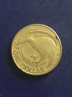 New Zealand $1 1990, Vf