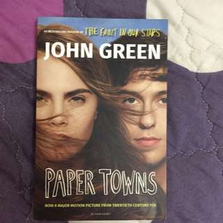 Paper Towns - English Novels