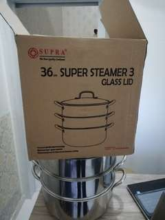 Super Steamer 3 Glass LID