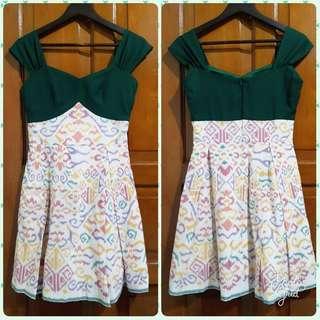 [BRAND NEW] Local Designer Batik Fusion Dress