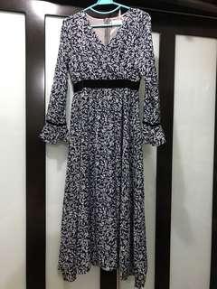 NEW! Vintage Long Dress