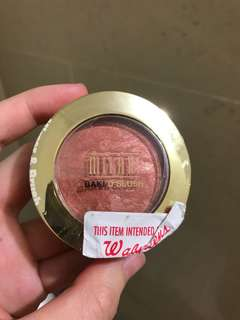 Milani baked powder blush rose d'oro 02