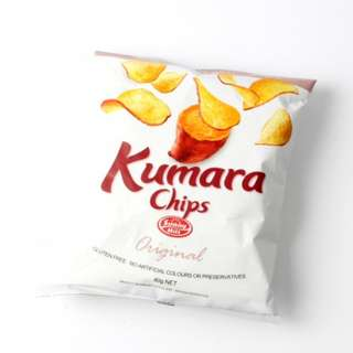 New Zealand Sunny Hill Kumara Chips (Original /Salt & Pepper /Sour Cream & Chives) (Gluten Free) 40g