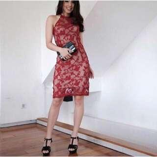 Red Dress Qipao