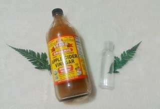 (100ml) Toner ACV/Apple Cider Vinegar/Cuka Apel Bragg Rasio 1:2