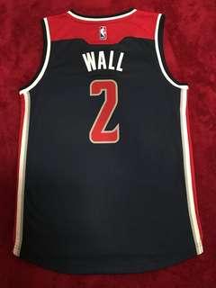 NBA John Wall 巫師 作客 波衫 Adidas Swingman S碼 99%新