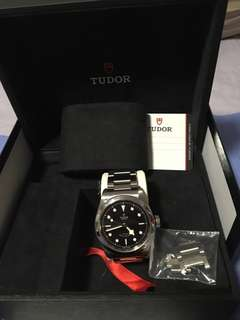 Tudor Black Bay 41 bracelet version full links