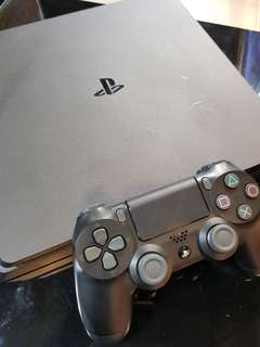 PS4 Slim with Controller for trading in console