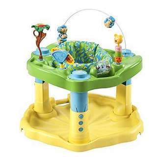 ~Ready Stocked~ Evenflo Exersaucer Bounce & Learn activity center, Zoo Friends (not jumperoo)