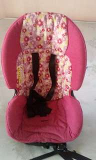 Car seat for baby girl