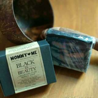 Charcoal Clay Honey Soap Black is Beauty