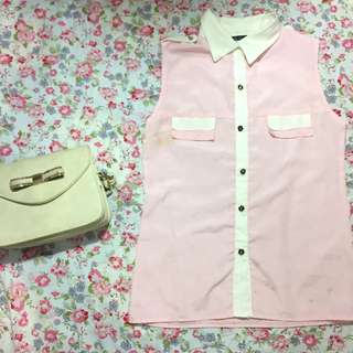PINK TOP BUTTON