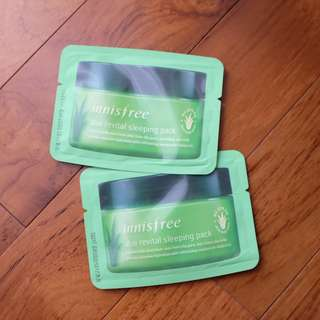 Innisfree Aloe Sleeping Pack