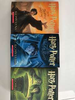 Harry Potter - 3 books